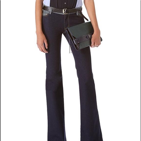 Derek Lam Denim - Derek Lam 10 Crosby flare jeans